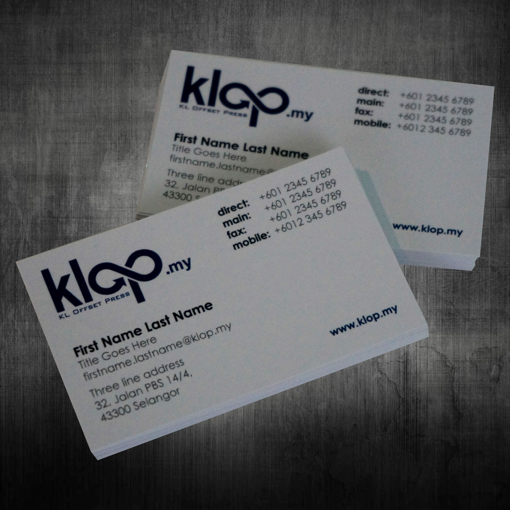 Attractive business card printing malaysia component business card klop malaysia name cards printing invitation cards printing reheart Image collections